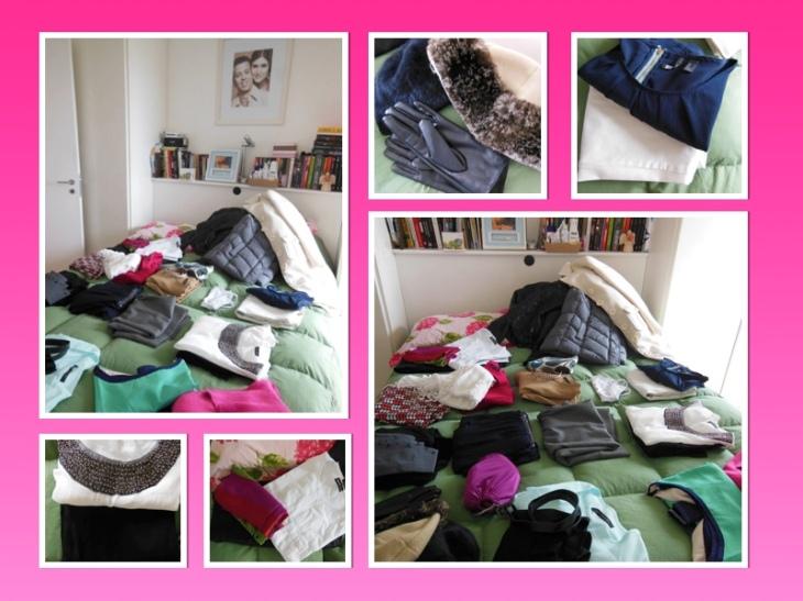 Tudo na cama - mala